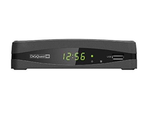Digiquest DGQ690 HD - Decoder digitale terrestre con funzione di videoregistratore, Nero