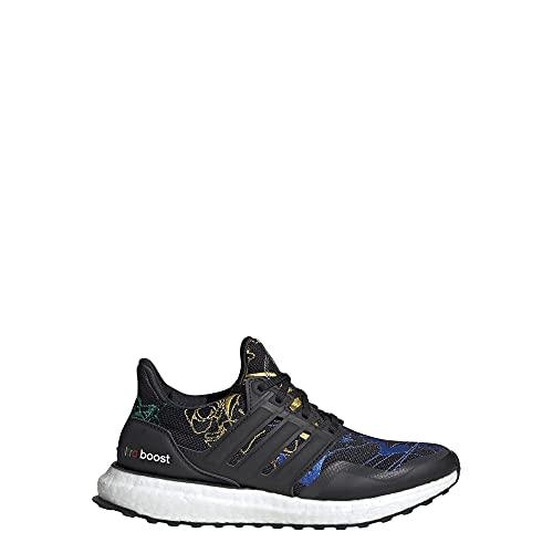 adidas Kids Ultraboost DNA S&L (Big Kid) Core Black/Core Black/Blue 5 Big Kid M