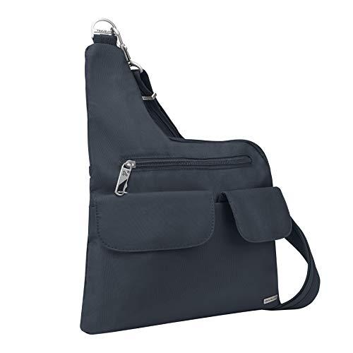 Travelon Anti-Theft Classic Crossbody Bag, Midnight, One Size