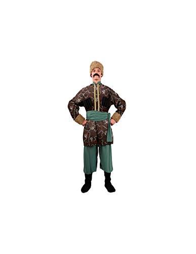 DISBACANAL Disfraces de Ruso Adulto - -, XL