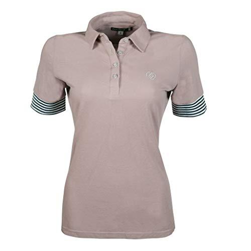 HKM 11374 Lauria Garrelli Poloshirt Elemento, Reitshirt Damenshirt, Sand, S