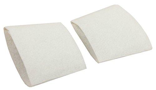Juego de fundas de filtro adecuadas para Dirt Devil Centrino Cleancontrol M2003, M2013, M2881 – Alternativa a fieltro protector n.º 2881077