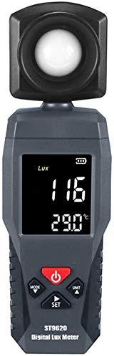 SLL Digital Luxmeter LCD LCD Illuminómetro de Mano Luminómetro fotómetro Luxmeter Light Meter 1-200000 Lux preciso