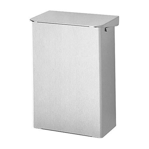 OPHARDT hygiene 484500 Ingo-man AB 15 E Geschlossene Abfallbox mit Klappdeckel, 15 Liter