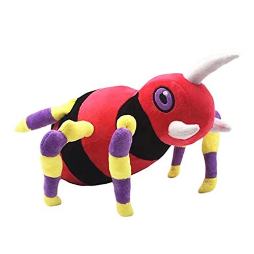 QINGAS Juego De Anime Pokémon Juguetes De Peluche Ariados Kawaii Muñecos De Peluche 25Cm Regalos Coleccionables para Niños