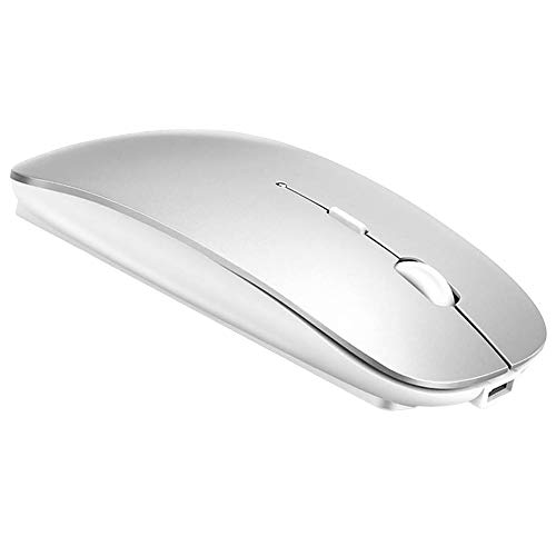 Bluetooth Mouse for MacBook pro/MacBook air/Laptop/iMac/ipad, Wireless Mouse for MacBook pro MacBook Air/iMac/Laptop/Notebook/pc(BT/Silver). Buy it now for 14.99