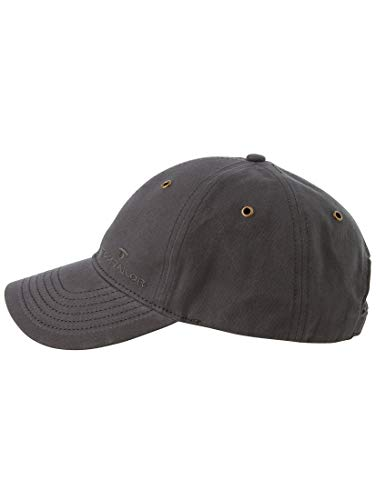 TOM TAILOR Damen Gürtel & Riemen Baseball-Cap mit Stickerei anthra,OneSize