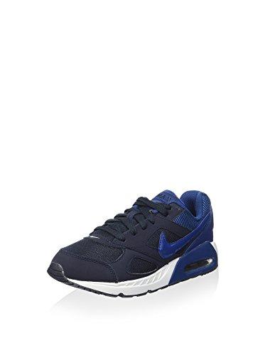 Nike Unisex-Kinder Air Max Ivo (Gs) Fitnessschuhe, dunkelblau (Dark Obsidian/Coastal Blue White), 38.5 EU