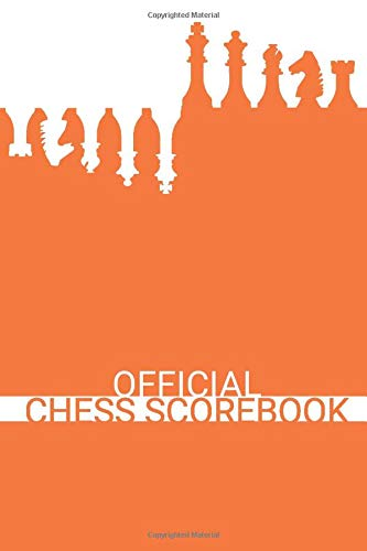 Official Chess Scorebook (Ordinary Orange): Beautifully Designed 90 Moves Chess Notation Book...