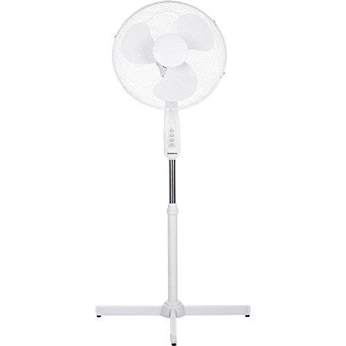Basetech ventilatore 50 W (L x B x H) 60 x 60 x 120 cm bianco