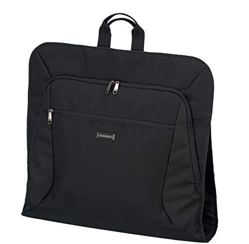 travelite Kleidertasche für Anzüge und Hemden, Gepäck Serie MOBILE: Knitterfrei reisen mit der Kleidersack Anzugtasche ,001717-01, 107 cm, 15 Liter, schwarz