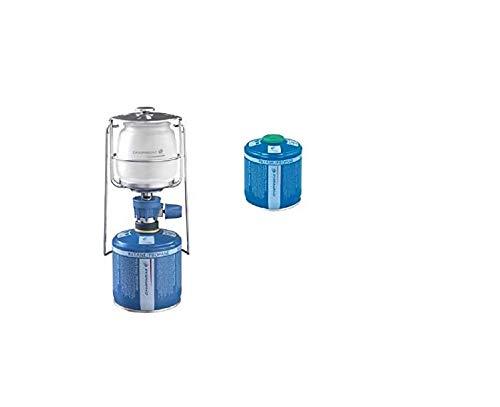 ALTIGASI Farol lámpara de gas Lumogaz Plus Campingaz de 80 W + 1 cartucho CV 300 de 240 g
