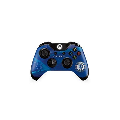 Offizielle Fußballteam-Schutzhülle (Xbox One Controller, verschiedene Mannschaften zur Auswahl Sticker-Haut geeignet. Chelsea FC Xbox One