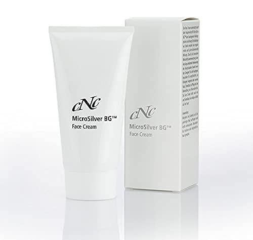 CNC cosmetic - Face Cream - MicroSilver BG TM - beruhigt irritierte, gereizte Haut, stärkt die Schutzbarriere der Haut - Meerwasser, Vitamin E, Zink, Silber 50ml