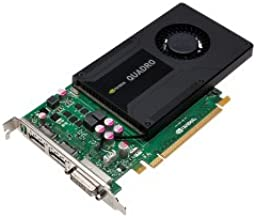NVIDIA Quadro K2000 2GB GDDR5 Graphics card (PNY Part #: VCQK2000-PB)
