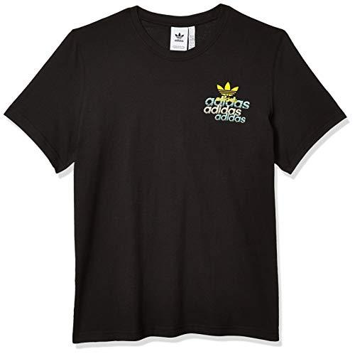 adidas Originals - Camiseta para hombre -  Negro -  Small