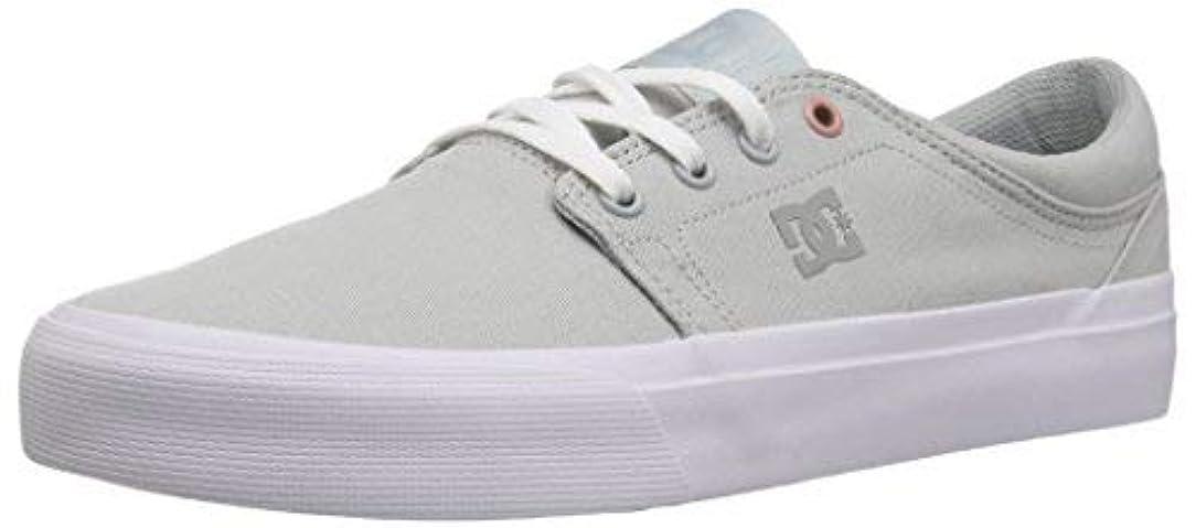アルコール社会学知覚的DC Women's Trase TX Skate Shoe Light Grey 9 Medium US [並行輸入品]