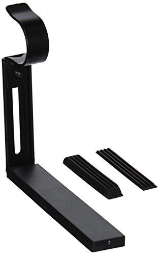 Ikea zwart Betydlig gordijn staaf muur of plafond verstelbare beugel Drapes Hardware