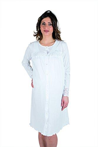 camicia donna xxxl Premamy - Camicia Clinica per Premaman