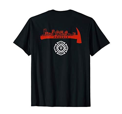 Phoenix Arizona Fire Rescue Department Firefighters Duty T-Shirt