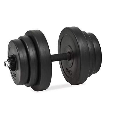 Juego de mancuernas de fitness de 40 kg, ajustables, para el peso de las mancuernas en casa, equipo para el ejercicio