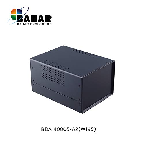 Bahar Enclosure 150*110*195 mm Metallgehäuse Eisengehäuse Iron Enclosure Eisen Box Instrument Gehäuse Industriegehäuse Stahl BDA 40005-A2 (W195)
