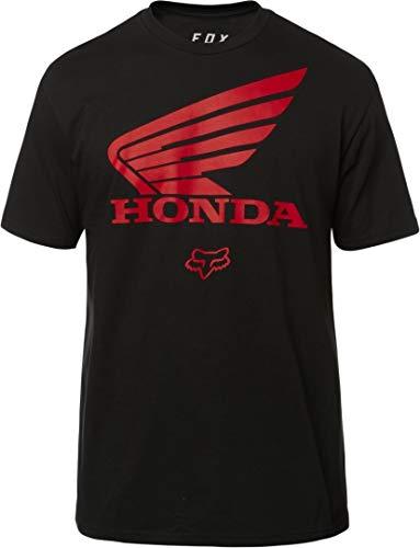 Fox T-Shirt Honda Wing Schwarz Gr. L