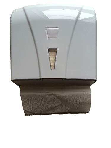 CleanSV® Katli hochweiss Papierhandtuchspender mit Schlüssel Wandmontage