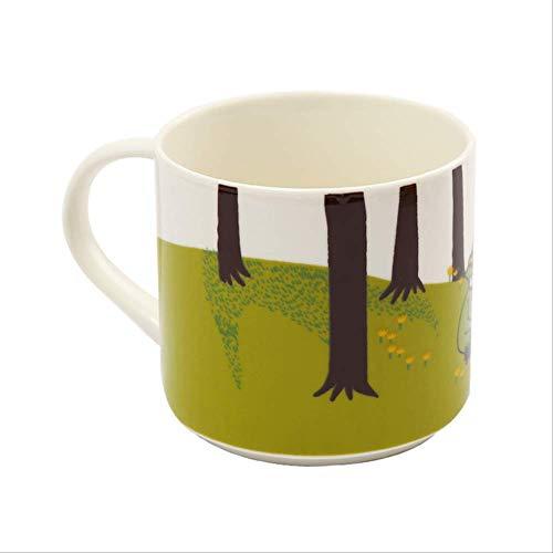 Mokken GJDBBLY Familie Leuke keramische kop Koffie Drinken Thee Snorkelen Meisje Cartoon Melk Kind Waterbeker 450ml Zoals afgebeeld