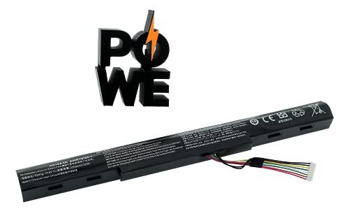 PO WE - AS16A5K AS16A8K Batería Compatible con Acer Aspire E5-475 E5-475G E5-575G E5-575G E5-575T E5-575TG E5-774 E5-774G Series AS16A7K 4ICR19/6 [14.6 V/2200mAh/32Wh]