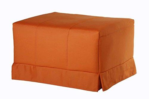 Quality Mobles - Cama Plegable Individual de 135x190 cm Funda Color Violeta