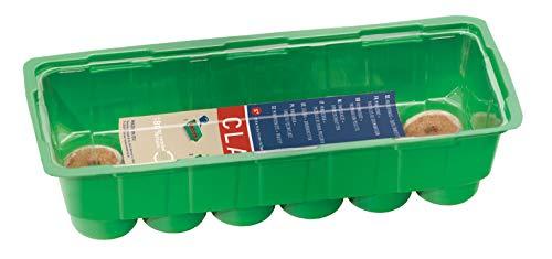 Romberg Anzuchthaus S PLUS COCO (mit 12 Kokos-Quelltabletten, mit Vertiefungen für Quelltabletten, Wasserrinne) 10094216