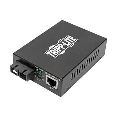 Tripp Lite Multimode Fiber Media Converter, Fiber to Ethernet Converter