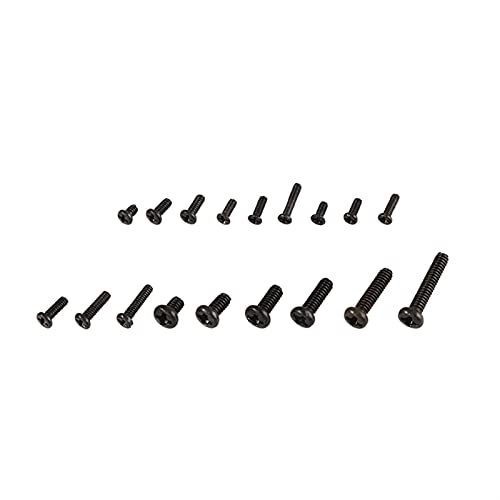 Tornillos resistentes 500 piezas de 18 tipos de kits de tornillos pequeños for portátiles de computadora portátiles electrónicos de reparación digital. Tornillos resistentes, de uso común en la vida d