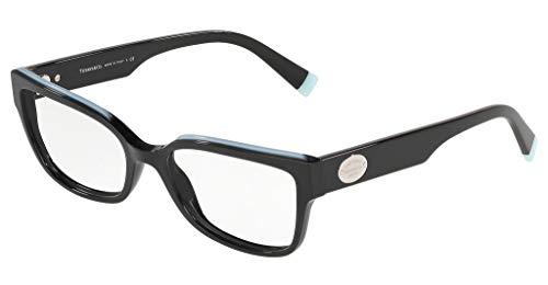 Tiffany Brillen Gafas de Vista RETURN TO TF 2185 BLACK 53/17/140 Damen