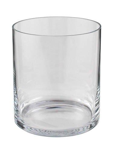 Kaheku Windlicht Vase Zylinder Glas Aida transparent d19,5 h24 cm