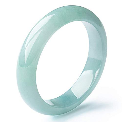 Aligeya Smaragd Armband EIS-Typ schwimmende Orchideen, Prinzessin Rundstreifen Armband Jade Armband