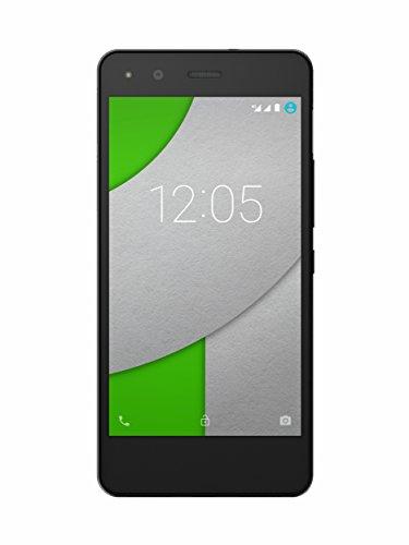 BQ Aquaris A4.5 - Smartphone de 4.5'' (WiFi, Bluetooth, 16 GB de Memoria Interna, 1 GB de RAM, Android 5.1.1 Lollipop), Color Negro