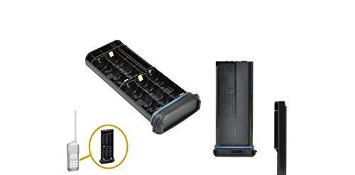 BP-251 - Caja de 5 pilas AAA para Icom IC-M33, IC-M35
