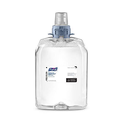 PURELL 521302 Professional HEALTHY SOAP Mild Foam, Fragrance-Free, 2000 mL, 2/CT