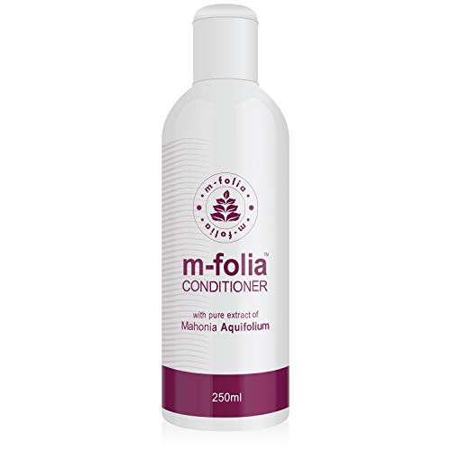 M-FOLIA Conditioner 250ml A Light Cream Rinse Conditioning Treatment for Scalp Psoriasis and Eczema containing Pure Extract of Mahonia Aquifolium and a Special Blend of Aromatherapy Oils