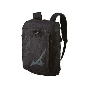31e0KAE6K L. SL500 . SS300  - Mizuno Style, Mochila Unisex Adulto, Negro (Black), 17x45x30 centimeters (W x H x L)