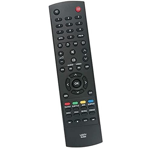 ALLIMITY GJ220 Sostituzione del Telecomando per Sharp Aquos TV LC-19LE320E-BK LC-22LE320E-BK LC-32LE320E-BK LC-32LD166K LC-46LD266K LC-50LD264E LC-50LD270E LC-26SH330E LC-32SH330E LC-42SH330E