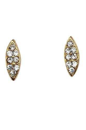 Touchstone Hermosa marquesa de oro Rhinestone de clavos para la Mujer
