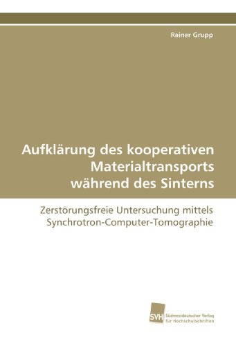 Aufklärung des kooperativen Materialtransports während des Sinterns: Zerstörungsfreie Untersuchung mittels Synchrotron-Computer-Tomographie