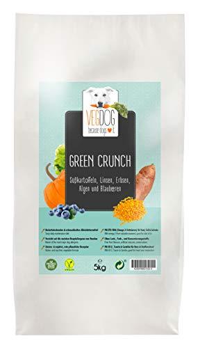 VegDog Vegetarisches Hundealleinfutter Green Crunch, 1er Pack (1 x 2 kg)