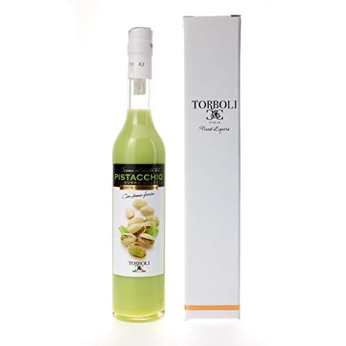 Torboli Pistazienlikör | Crema Pistacchio | Italienischer Likör |Cream |Likoer | Frische Pistazien (0,5l)