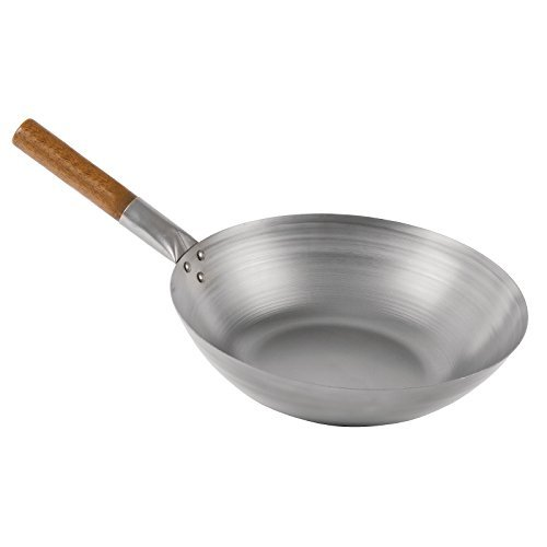 London Wok gj493 platte bodem wok, 30,5 cm