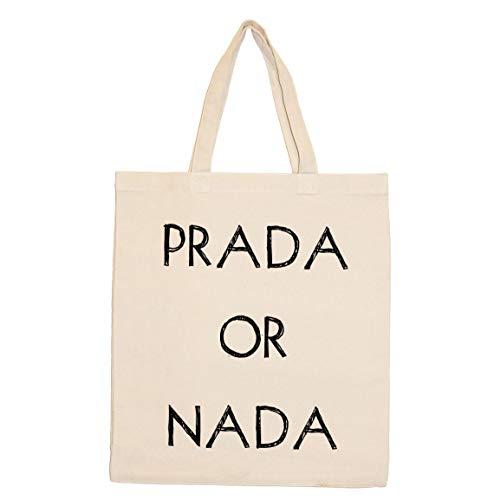 Retrospect Group PRADA OR NADA Tote, Canvas
