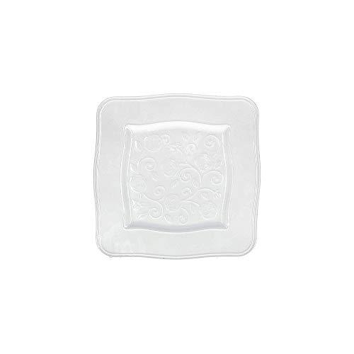 La porcelana Bianca - Vajilla Florentina de 18 piezas de porcelana P003800002